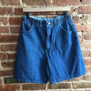 Vintage 90s Lee Elastic High Waist Rise Shorts